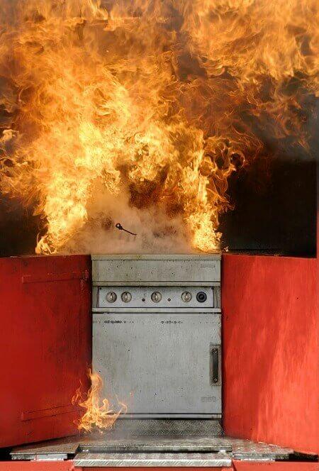 Cooker Fire